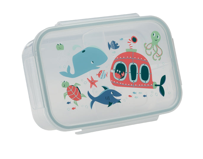 ORE Good Lunch Bento Box Divided Container - Ocean