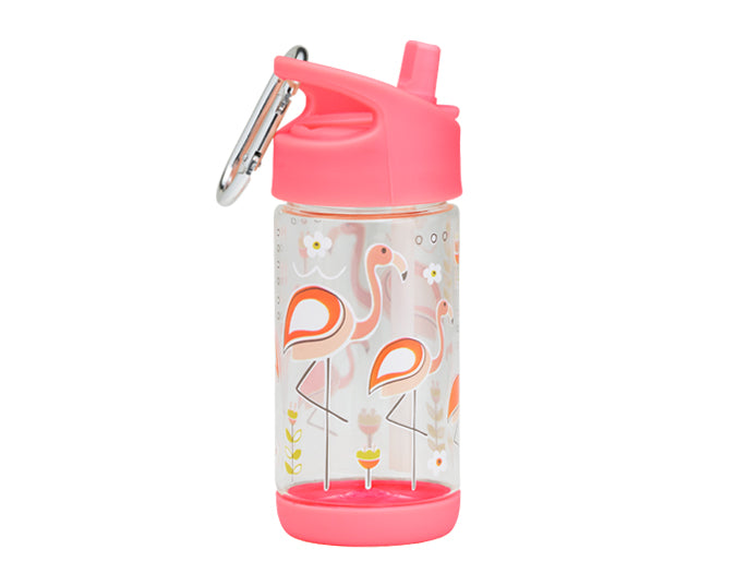 ORE Good Lunch Flip N Sip Drink Bottle - Flamingo