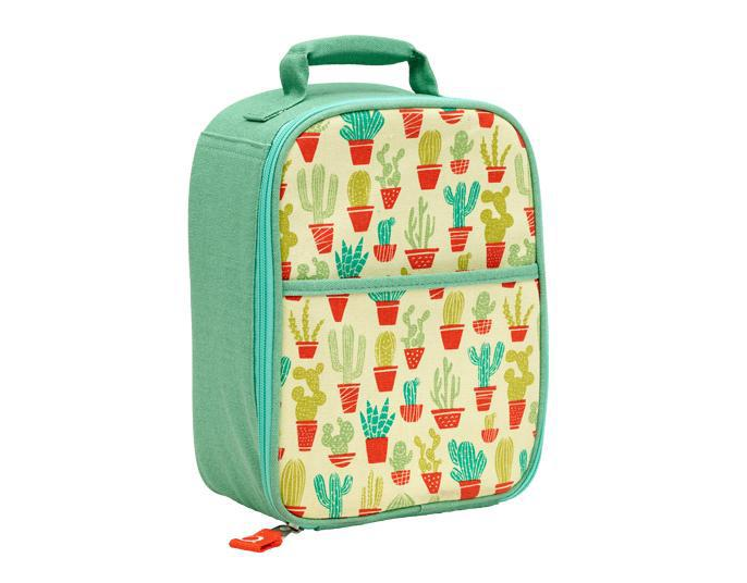 ORE Good Lunch Zippee Lunch Tote - Happy Cactus