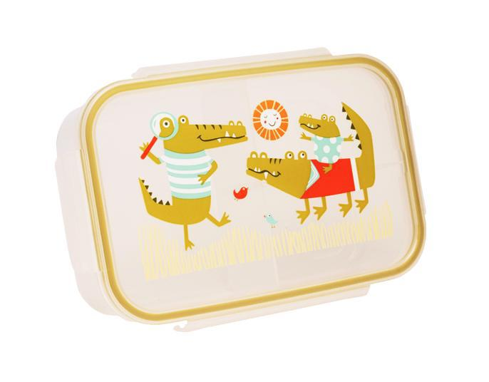 ORE Good Lunch Bento Box Divided Container - Ollie Gator