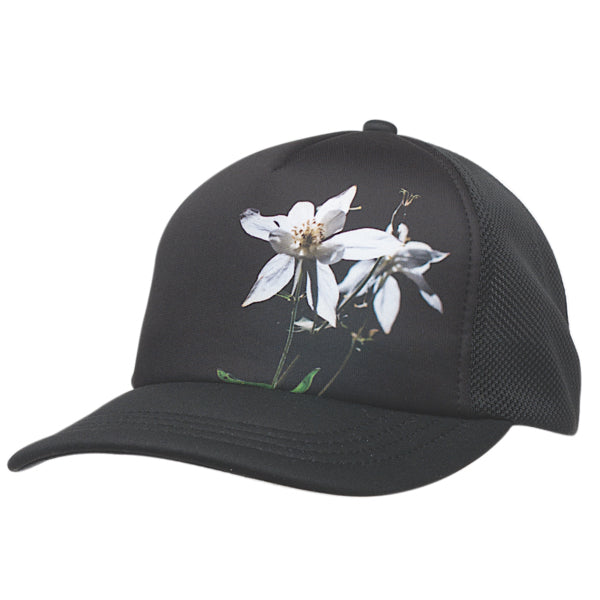 Amb Cap Adult Wildflower Black