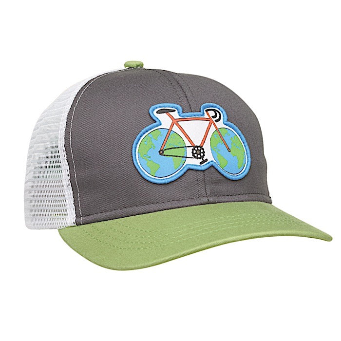Ambler Kids Cap - Earth Cycle - Green