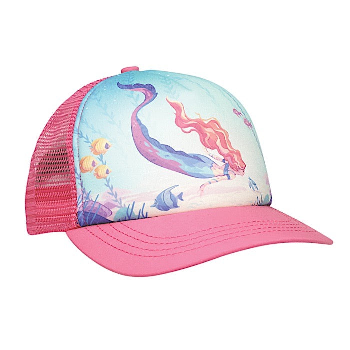 Ambler Kids Cap - Mermaid - Fuschia