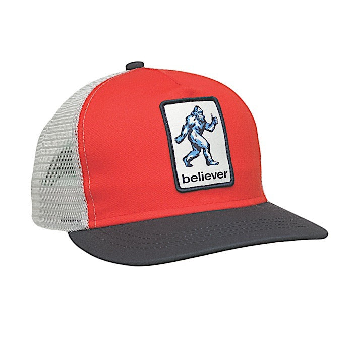 Ambler Kids Cap - Sasquatch - Red
