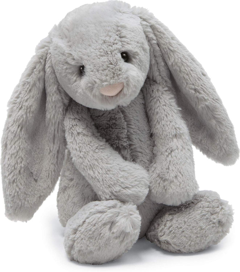 Jelly Cat Stuffie - Bashful Grey Bunny - Medium