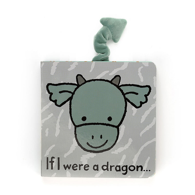 Jelly Cat Board Book - If I Were A Dragon