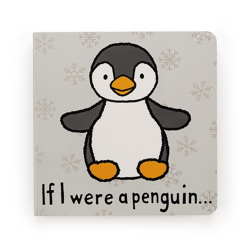 Jelly Cat Board Book - If I Were A Penguin
