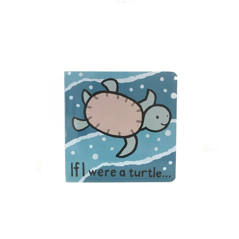 Jelly Cat Board Book - If I Were A Turtle