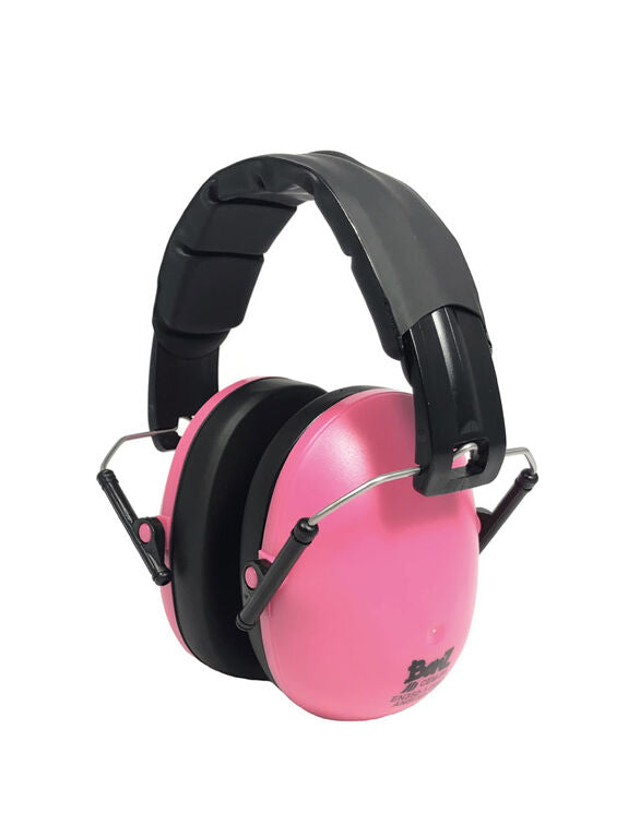 Banz Children's Earmuffs - 2+ Year - Petal Pink