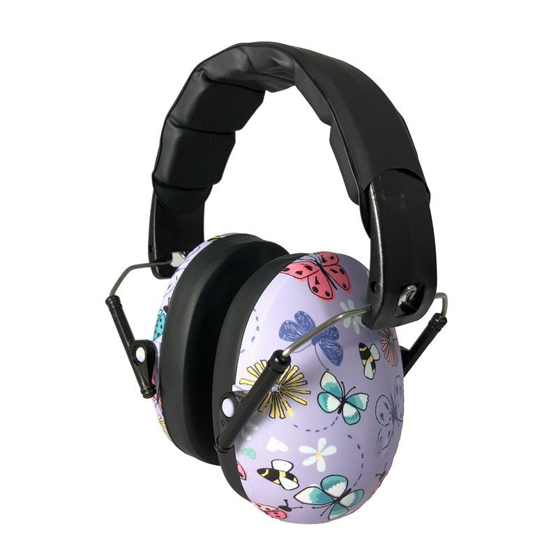 Banz Children's Earmuffs - 2+ Year - Butterflies