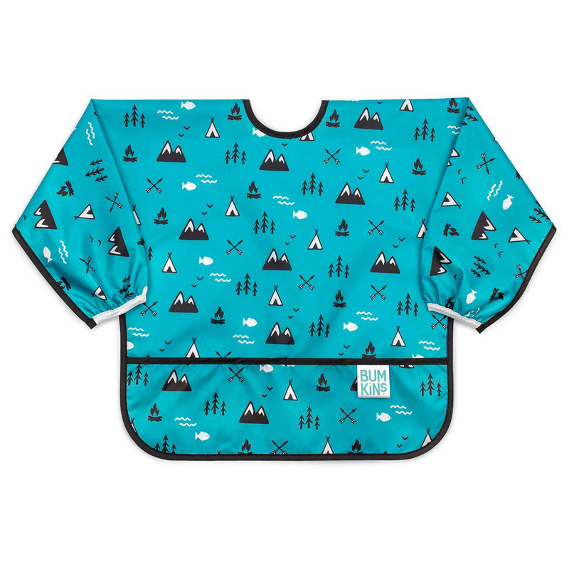 Bumkins Bib with Sleeves - Outdoors