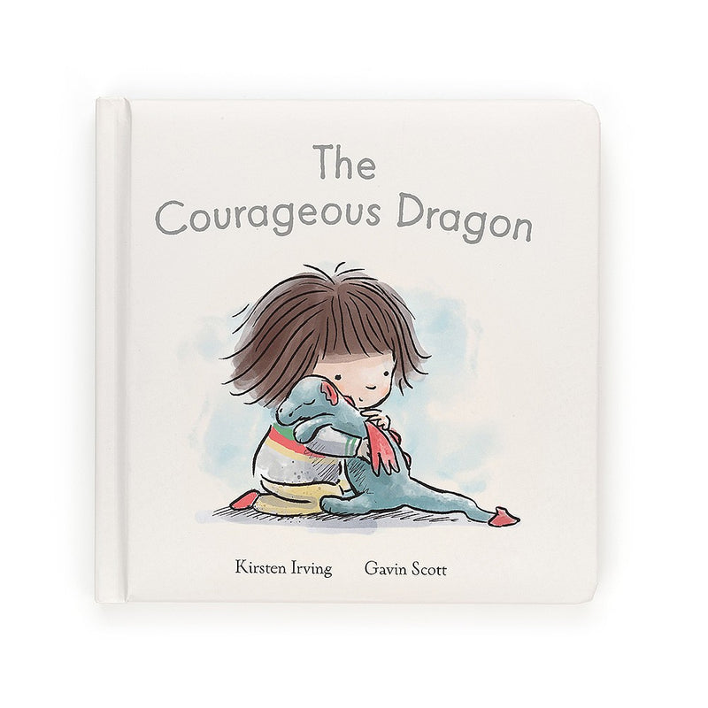 Jelly Cat Board Book - The Courageous Dragon