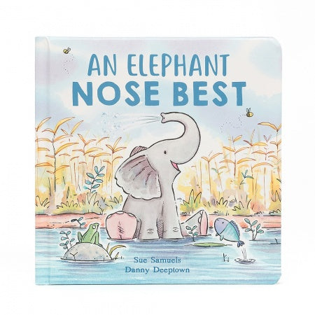 Jelly Cat Board Book - An Elephant Nose Best
