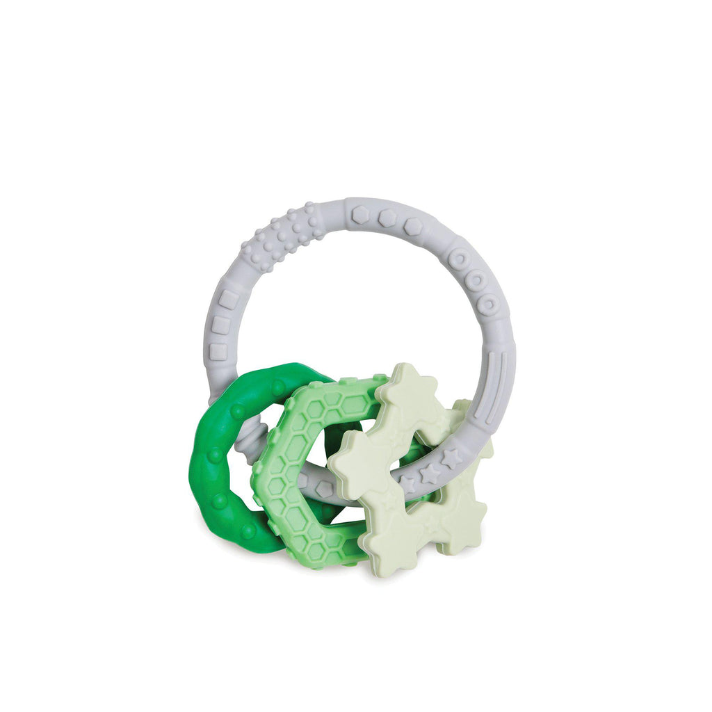 Bumkins Silicone Teething Charms - Green