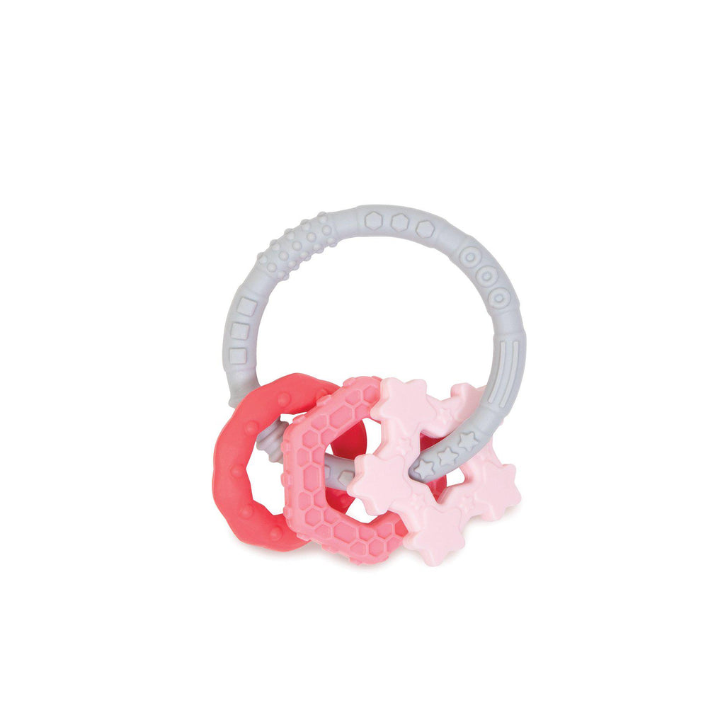 Bumkins Silicone Teething Charms - Pink