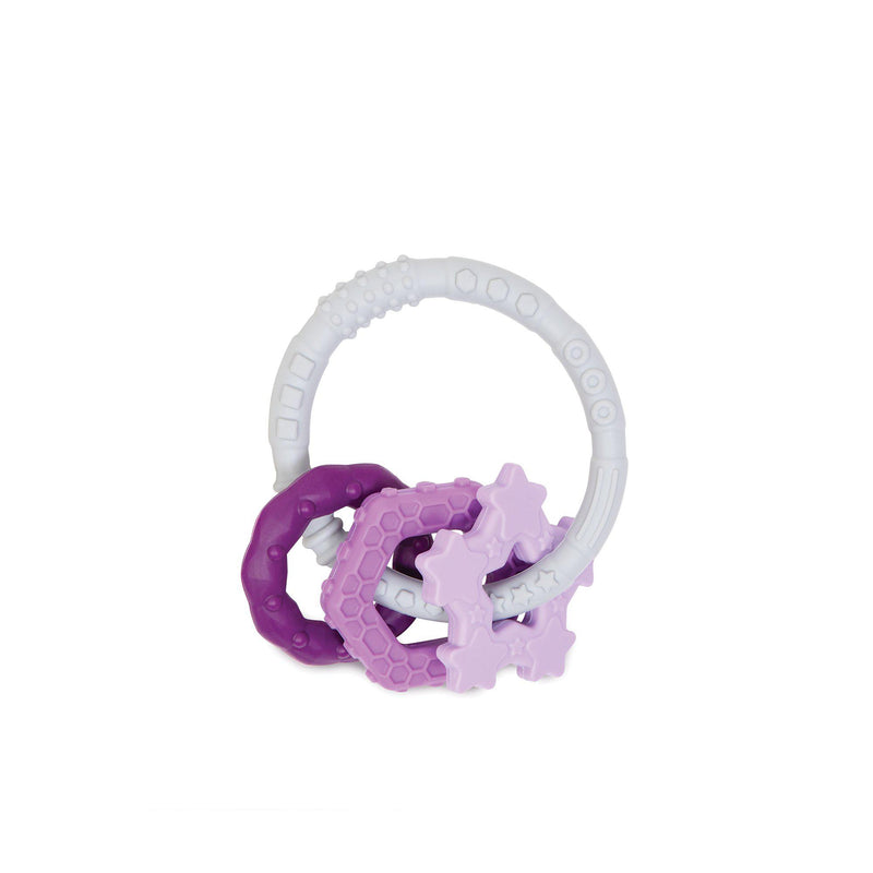 Bumkins Silicone Teething Charms - Purple