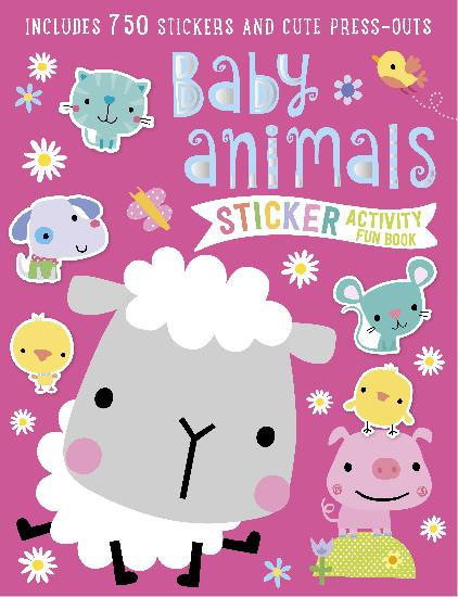 Activity Sticker Book - Baby Animal