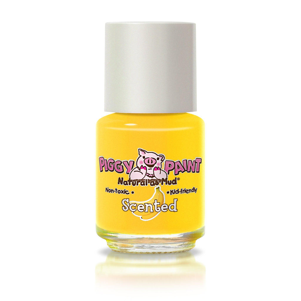 Piggy Paint Non-Toxic Nail Polish - Scented - Banana Besties