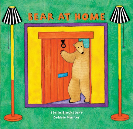 Board Book Bear at Home