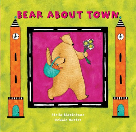 Board Book Bear About Town