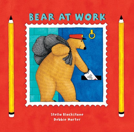 Board Book Bear at Work