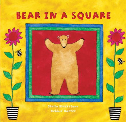 Board Book Bear in a Square
