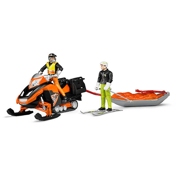 Snowmobile w/drive&rescue