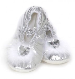 Princess Slippers - Silver