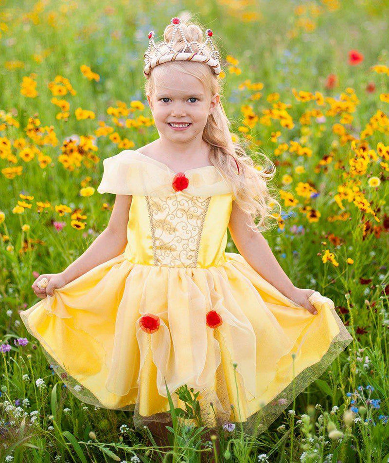Belle Tea Party Dress, Yellow