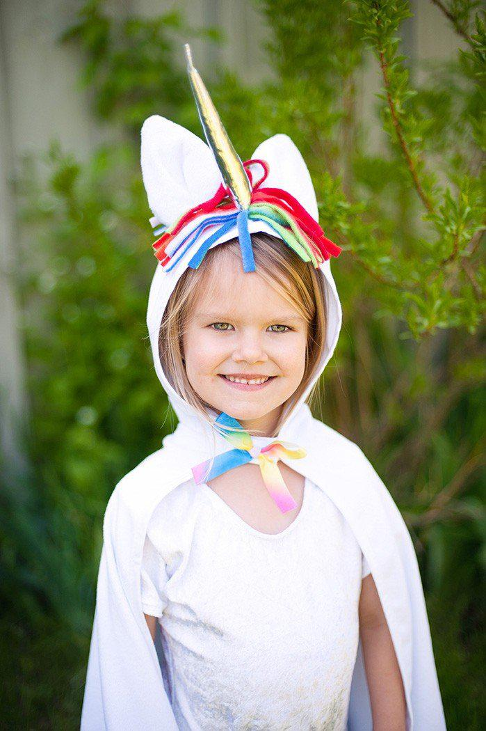 Unicorn Toddler Cape