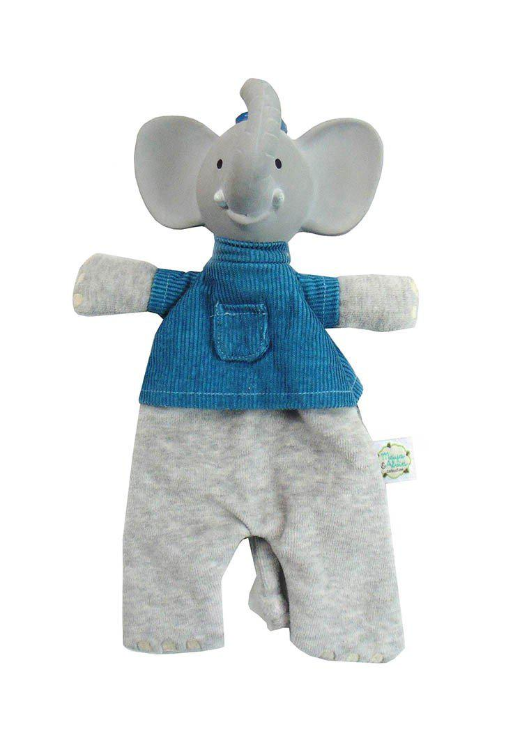 Alvin the Elephant Soft Rattle