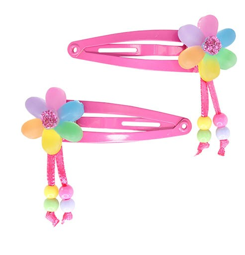 Flower over Rainbow Clip