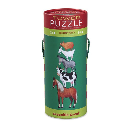 Puzzle 36 pc Tower / Barnyard