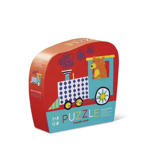 Puzzle 12pc Mini Bear Express