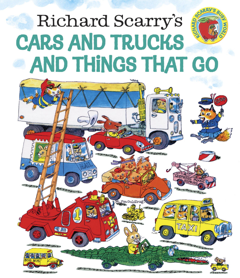 Book - Richard Scarry's Cars & Trucks & Things That Go