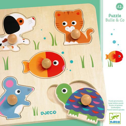 Puzzle Wood 5pc - Bulle & Co