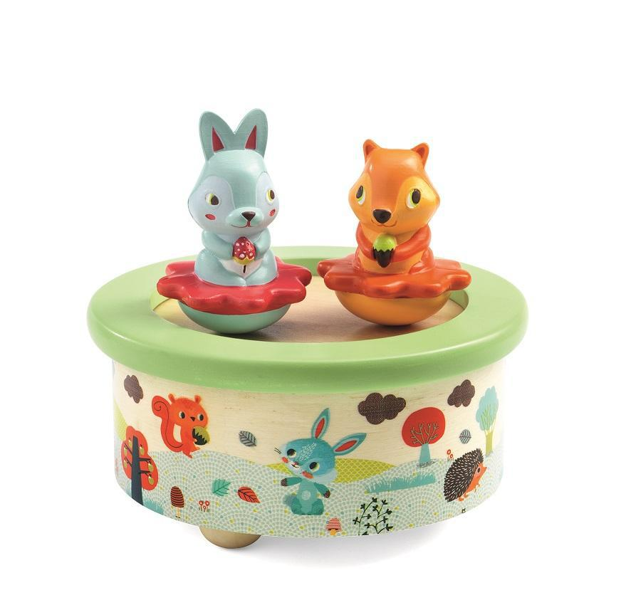 Music Box Magnetic Friends