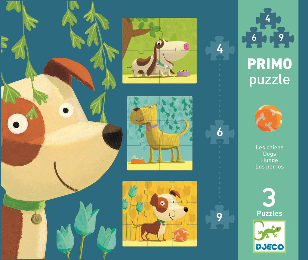 Puzzle Primo Dogs