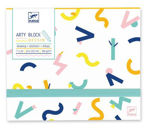 Arty Block Drawing Paper