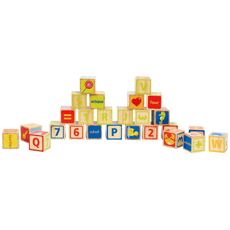 Hape Alphabet Blocks