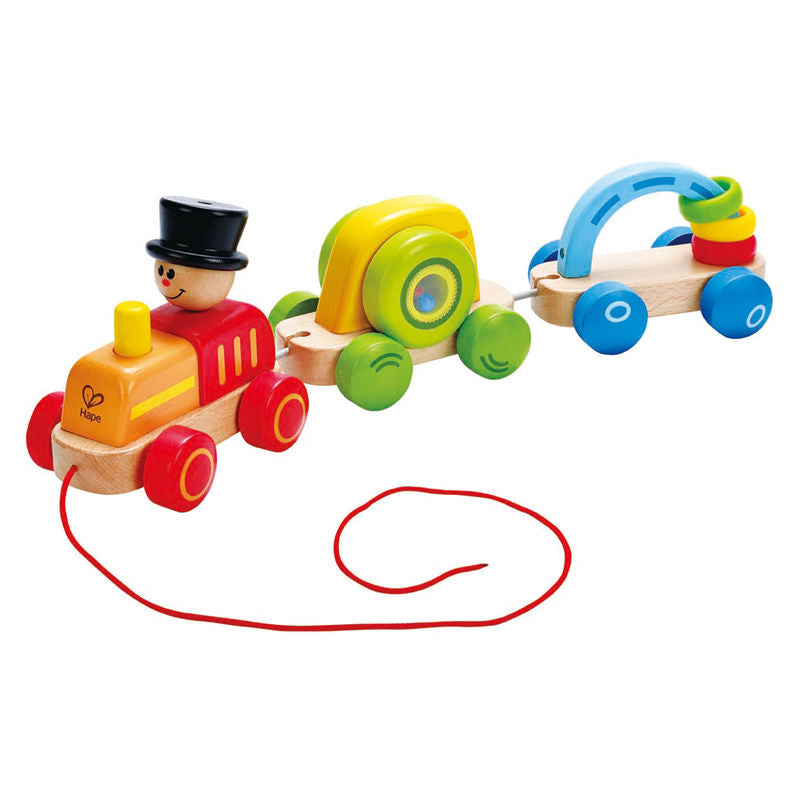 Hape Triple Play Train Set