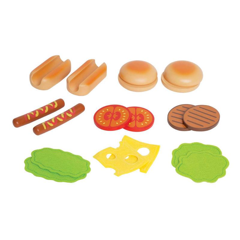 Hape Hamburgers and Hot Dogs