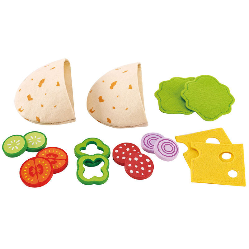Hape Play Food - Pita Pocket