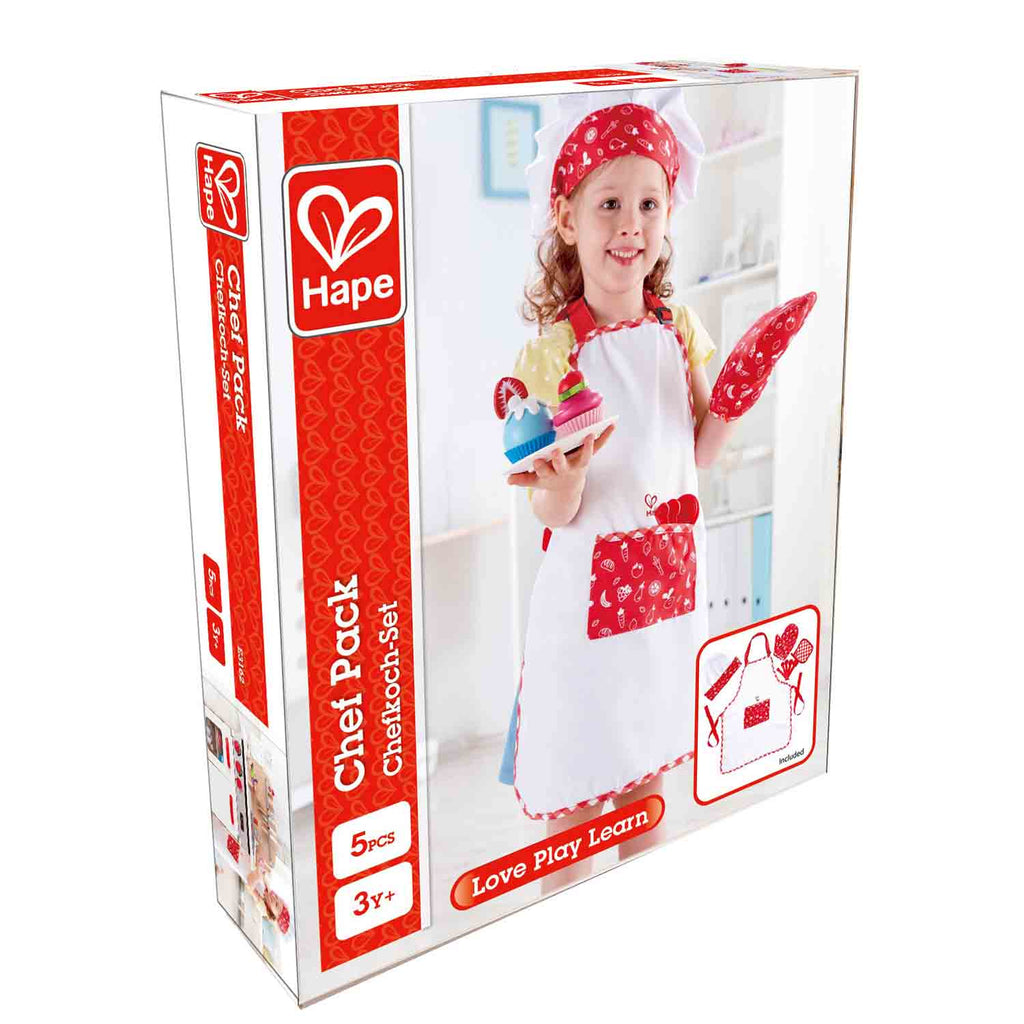 Hape Chef Outfit Pack