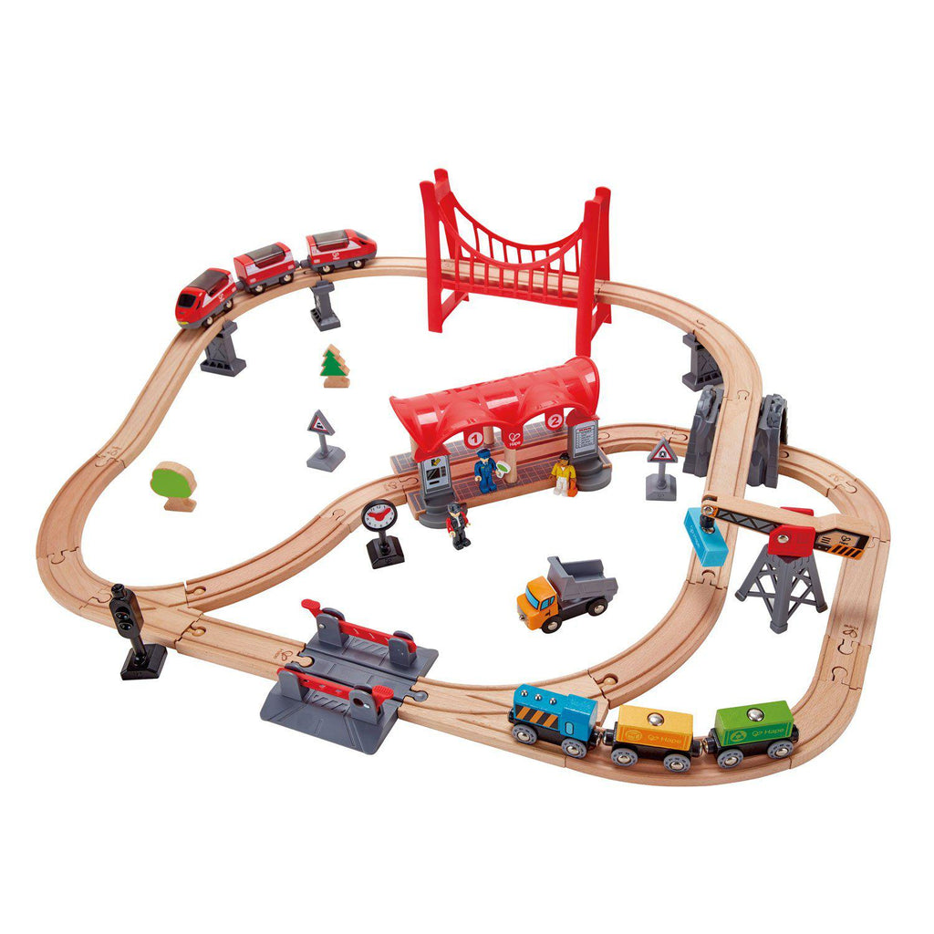 Hape Railway Set - Busy City