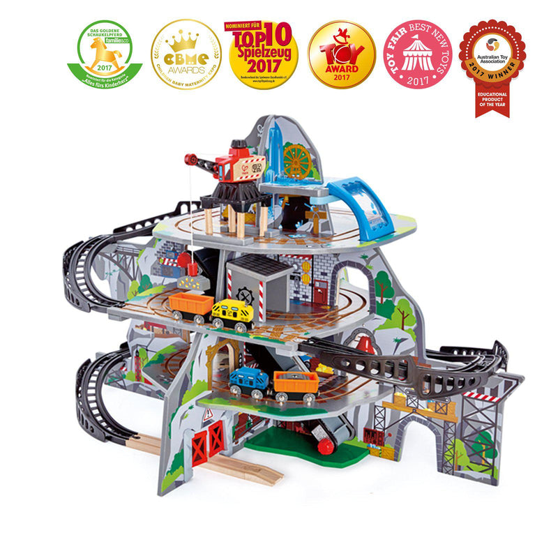 Hape Railway Set - Mighty Mine