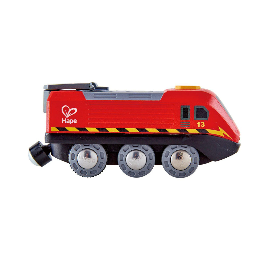Hape Train Set - Crank Powered Engine