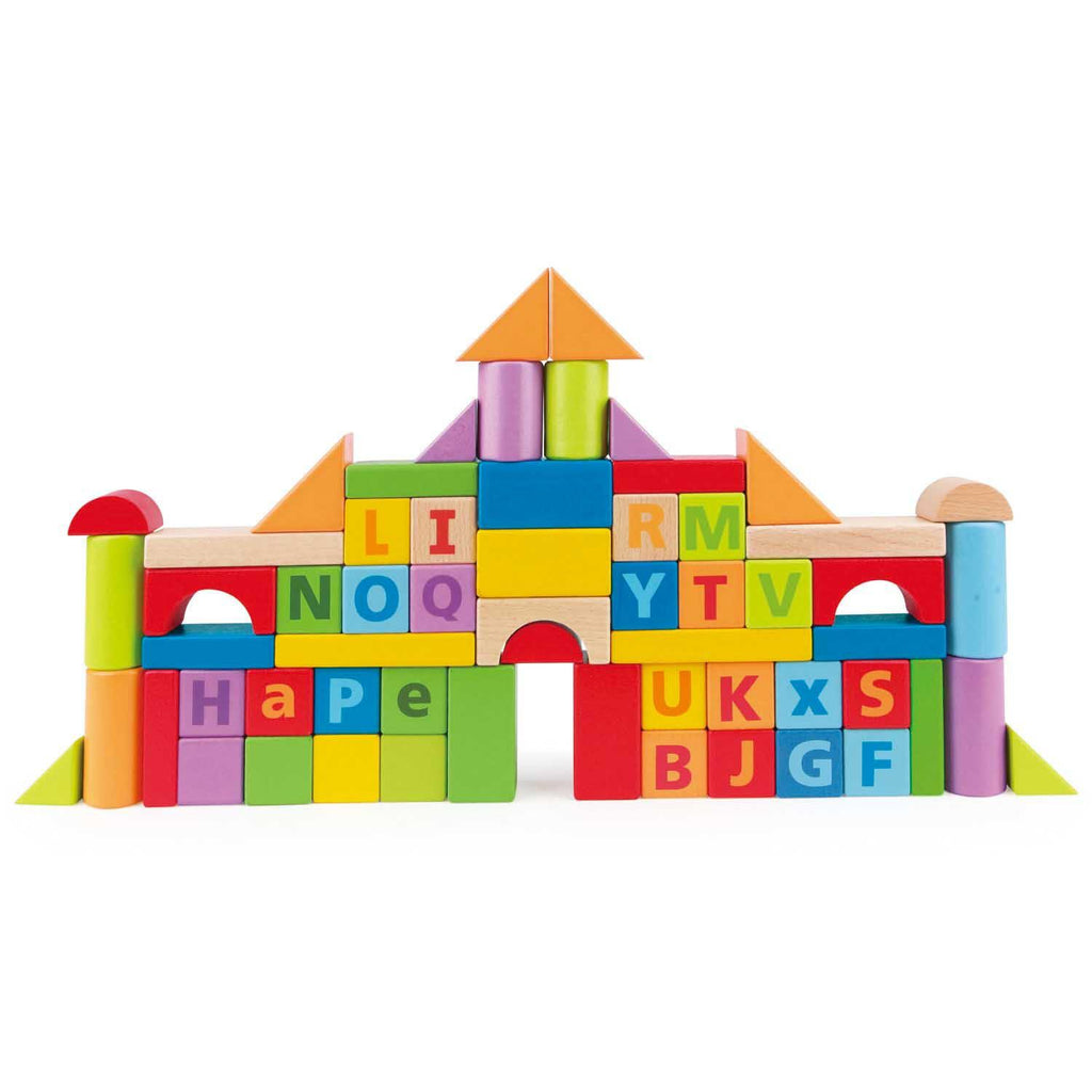 Hape Build n Spell Blocks 60pc