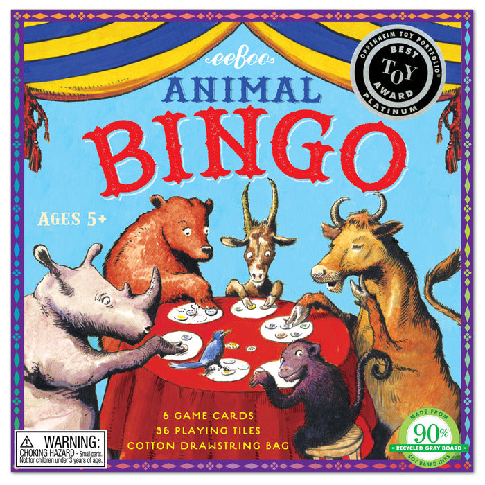 Game Animal Bingo