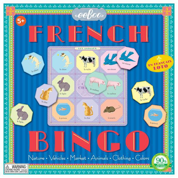 Game French Bingo
